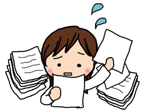 労働条件通知書作成時に契約書を探す
